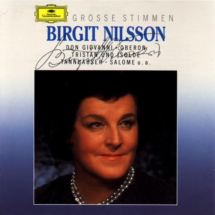 Grosse Stimmen - Birgit Nilsson 0028943110721