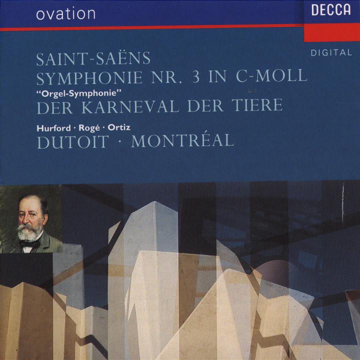 """Sinfonie Nr. 3 c-moll """"Orgelsinfonie""""; Der Karneval der Tiere 0028943072029"""