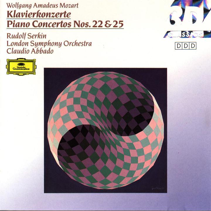 Klavierkonzerte Nr. 22 Es-dur KV 482 & Nr. 25 C-dur KV 503 0028942997820