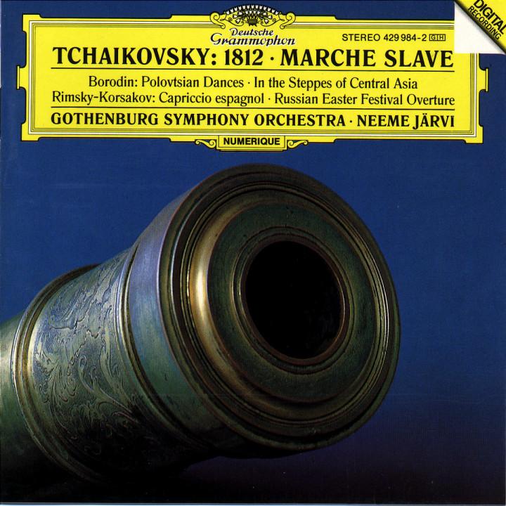 """Tchaikovsky: Overture """"1812""""; Marche slave / Borodin: In the Steppes; Polovtsian Dances / Rimsky-Ko 0028942998429"""