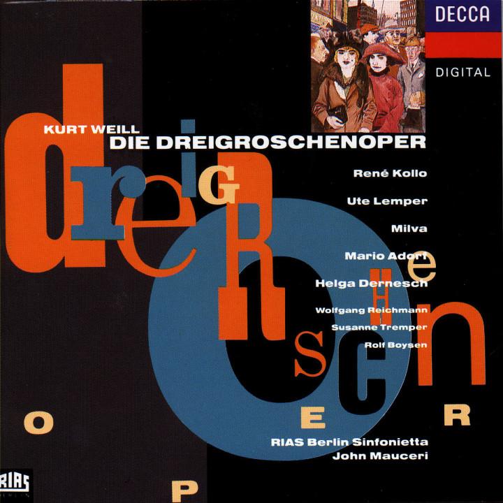 Weill: The Threepenny Opera 0028943007528