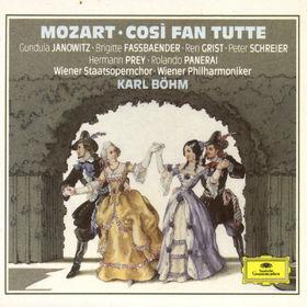 Wolfgang Amadeus Mozart, Mozart: Così fan tutte, 00028942987425