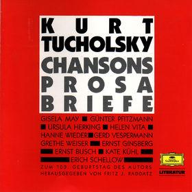 Kurt Tucholsky, Chansons; Lieder; Prosa; Briefe, 00028942984424