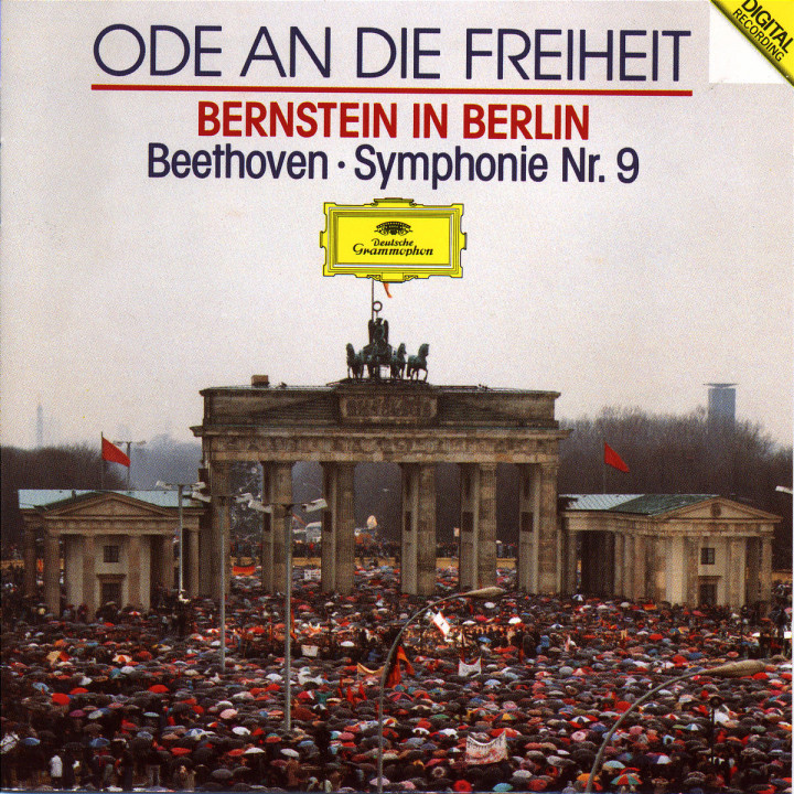 Beethoven: Symphony No.9 (Ode To Freedom - Bernstein in Berlin) 0028942986125