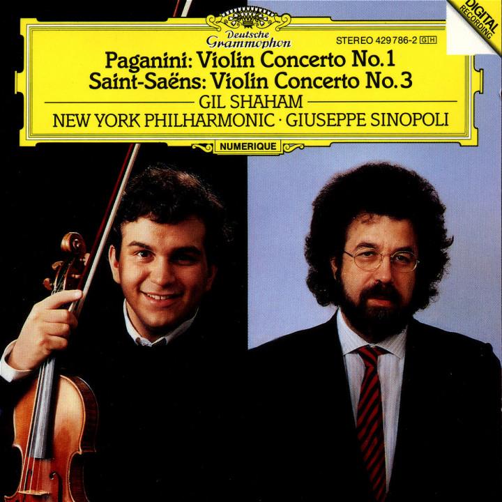 Paganini: Violin Concerto No.1 op.6 0028942978629