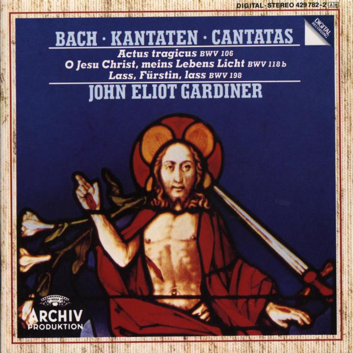Kantaten BWV 106; 118b & 198 0028942978227