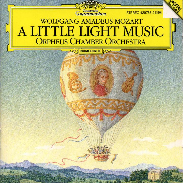 """Mozart: """"A Little Light Music"""" 0028942978320"""