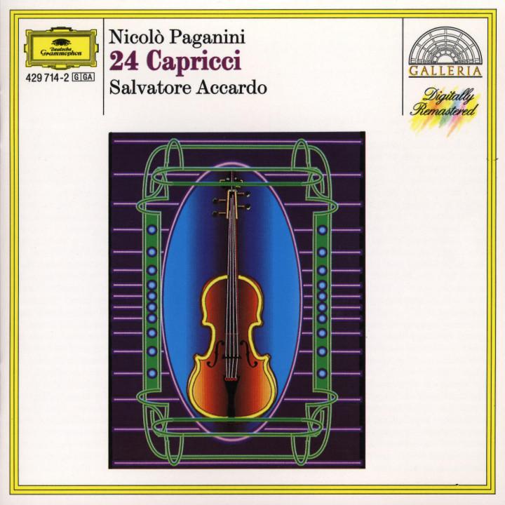 Paganini: 24 Capricci 0028942971426