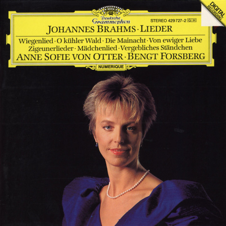 Brahms: Lieder 0028942972726