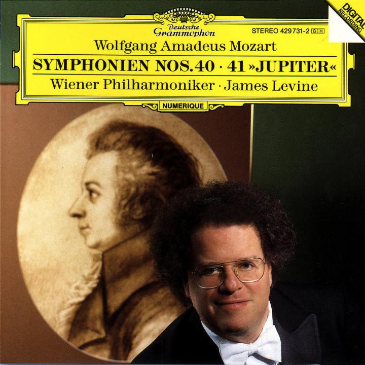 """Sinfonien Nr. 40 g-moll KV 550 & Nr. 41 C-dur KV 551 """"Jupiter"""" 0028942973129"""