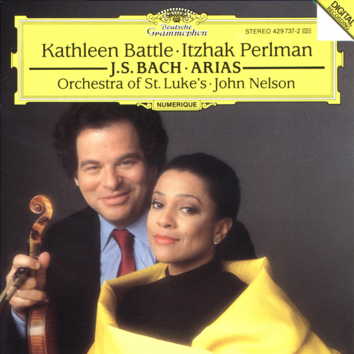 J.S. Bach: Arias for Soprano and Violin 0028942973727