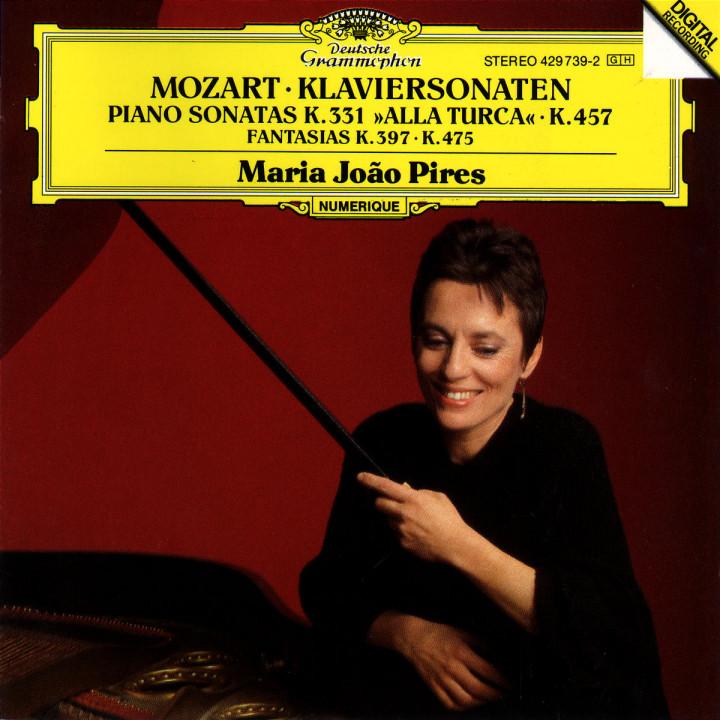 Mozart: Piano Sonatas K.457 & K.331, Fantasias K. 475 & K.397 0028942973923