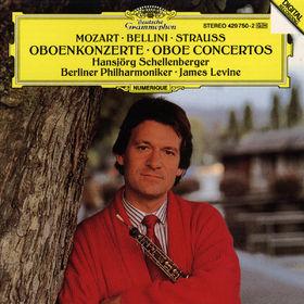 Richard Strauss, Mozart / Bellini / R. Strauss: Oboe Concertos, 00028942975026