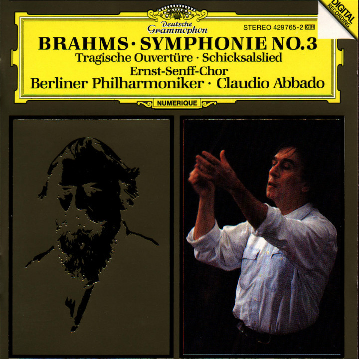 Brahms: Symphony No.3; Tragic Overture; Song of Destiny 0028942976524