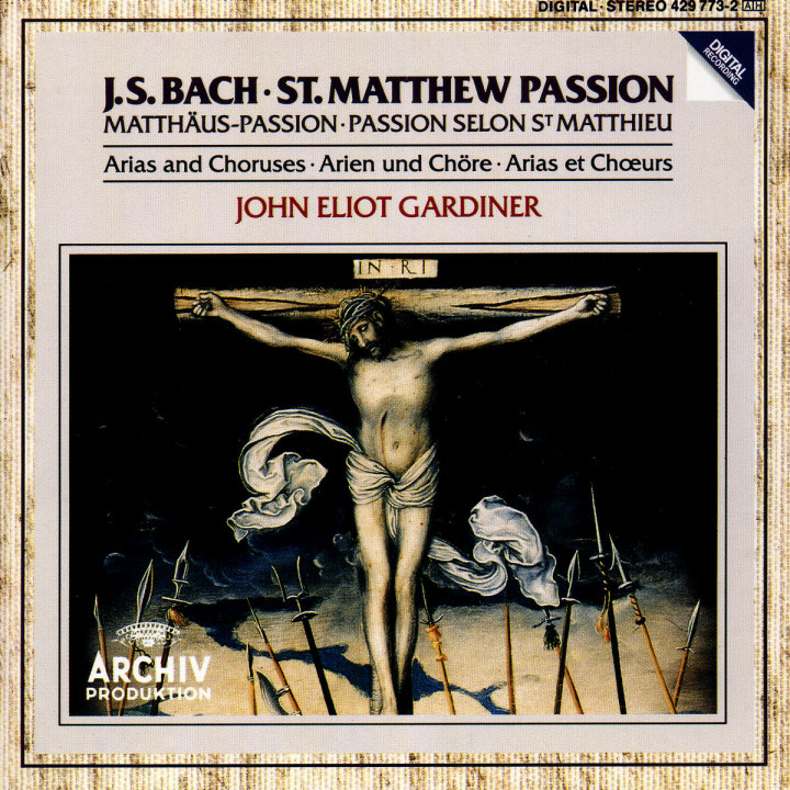 Bach, J.S.: St. Matthew Passion - Arias & Choruses 0028942977329