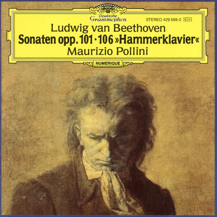 """Klaviersonaten Nr. 28 A-dur op. 101 - Nr. 29 B-dur op. 106 """"Hammerklaviersonate"""" 0028942956920"""