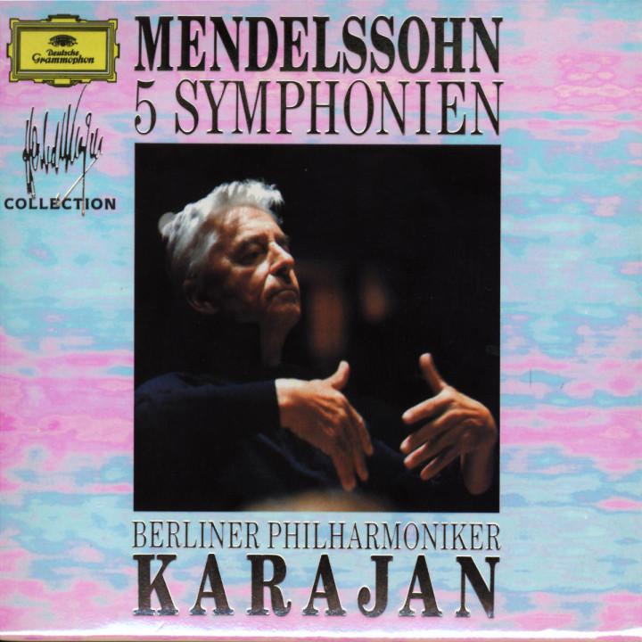 Felix Mendelssohn Bartholdy: 5 Symphonies 0028942966428