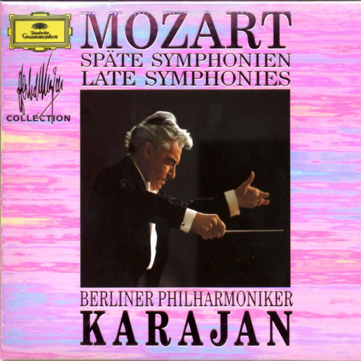 Mozart: Late Symphonies 0028942966820