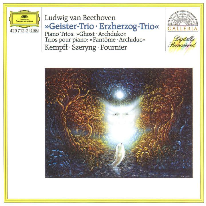 """Klaviertrios B-dur op. 97 """"Erzherzog"""" & D-dur op. 70 """"Geister"""" 0028942971220"""