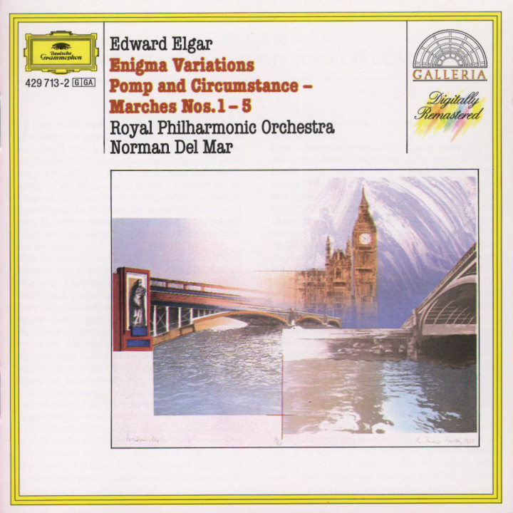 Elgar: Enigma Variations; Pomp and Circumstance 0028942971323
