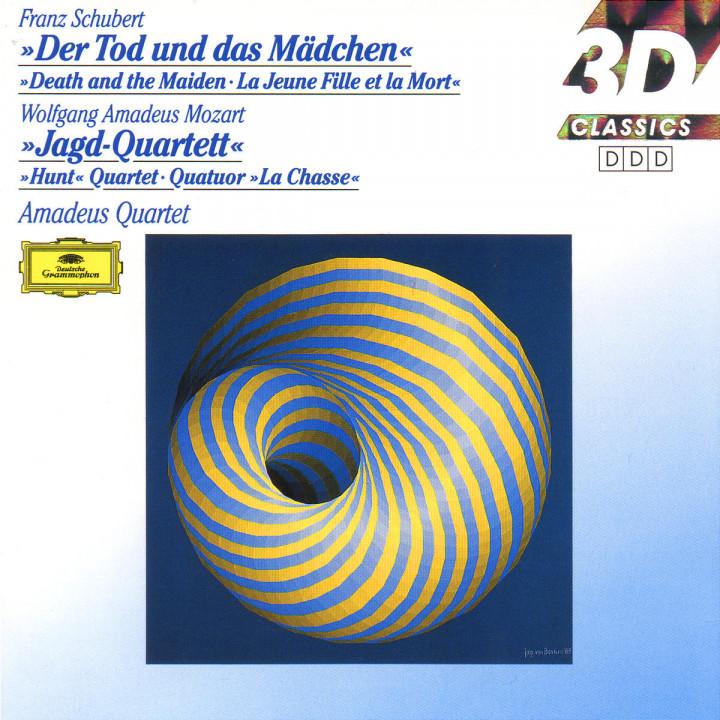 "Streichquartette d-moll D 810 ""Der Tod und das Mädchen"" & B-dur KV 458 ""Jagd-Quartett"" 0028942949126"