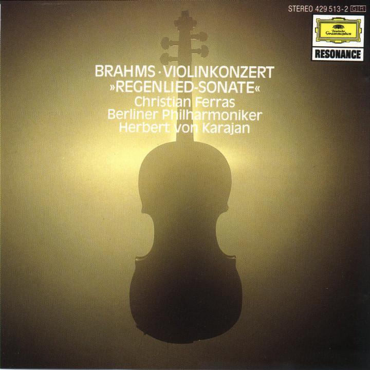 """Violinkonzert D-dur; Violinsonate G-dur """"Regenlied"""" 0028942951327"""