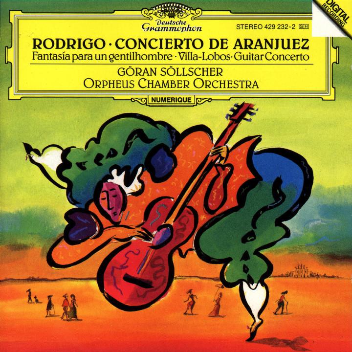 Rodrigo: Concierto de Aranjuez / Villa-Lobos: Guitar Concerto 0028942923227