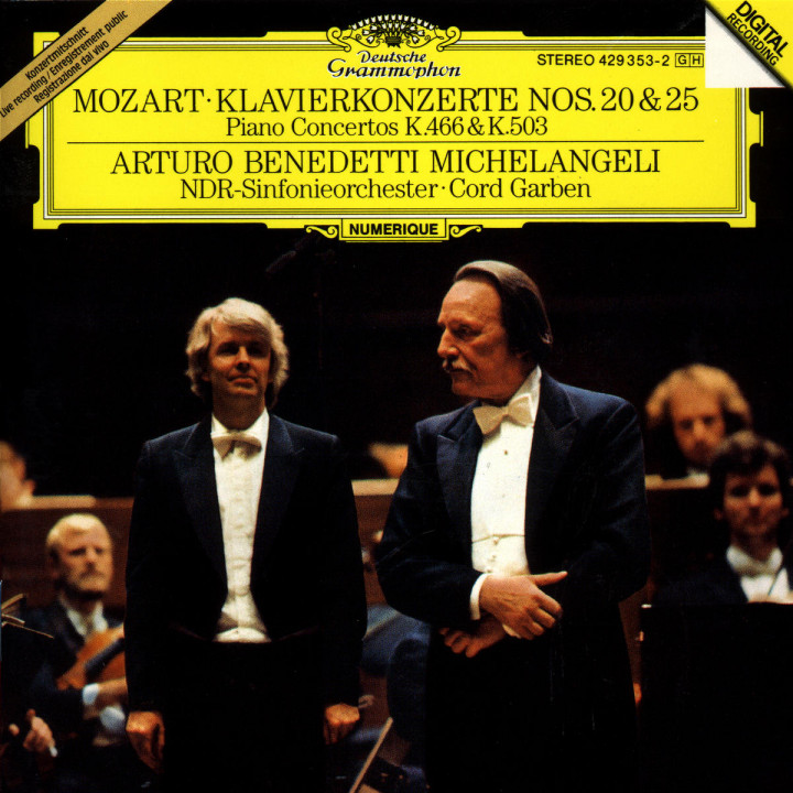 Mozart: Piano Concertos KV 466 & KV 503 0028942935325