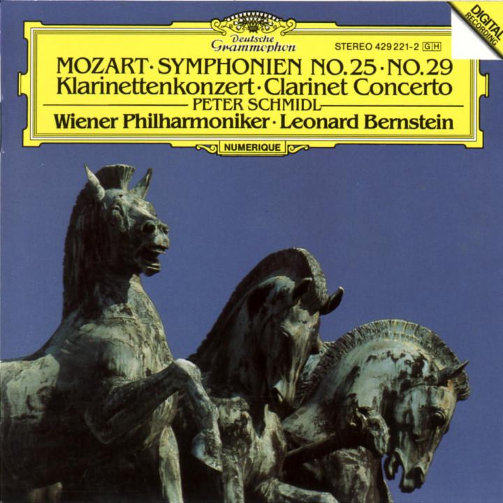 Mozart: Symphonies Nos.25 & 29 / Clarinet Concerto 0028942922123