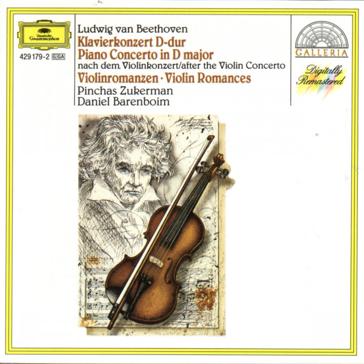 Beethoven: Piano Concerto after the Violin Concerto; Violin Romances 0028942917929