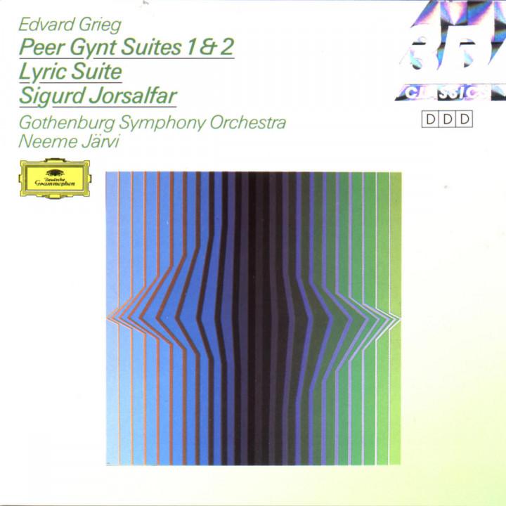 Grieg: Peer Gynt Suites Nos.1 & 2; Lyric Suite; Sigurd Jorsalfar 0028942780725