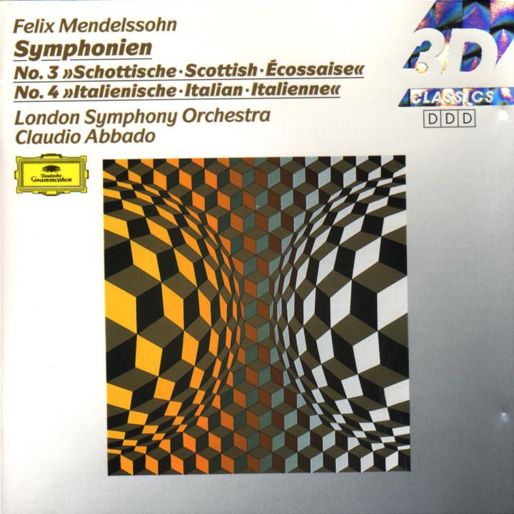 "Mendelssohn: Symphonies Nos.3 ""Scottish"" & 4 ""Italian"" 0028942781025"