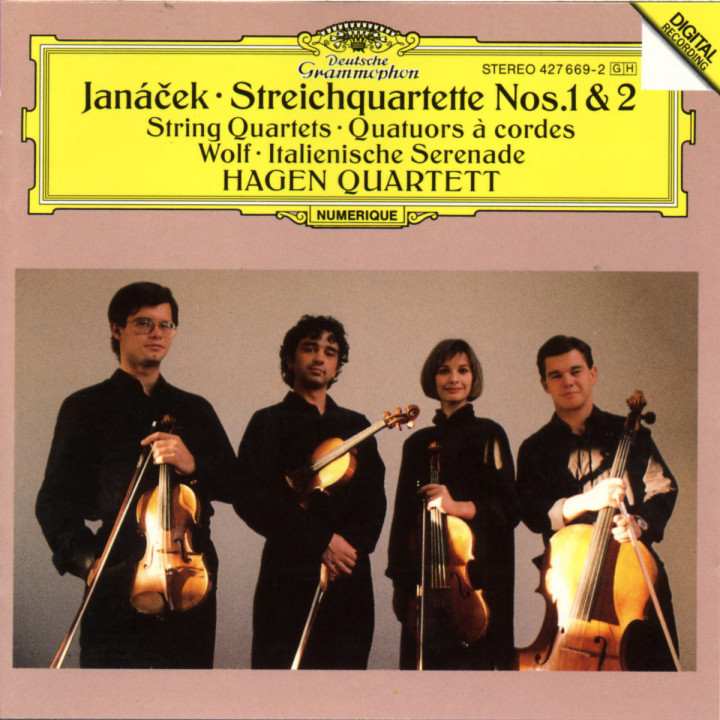 Janácek: String Quartets Nos.1 & 2 / Wolf: Italian Serenade 0028942766921