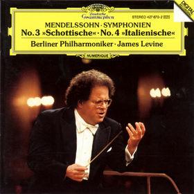 Felix Mendelssohn Bartholdy, Sinfonien Nr. 3 a-moll op. 56 Schottische&Nr. 4 A-dur op. 90 Italienische, 00028942767027
