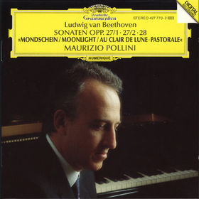 Ludwig van Beethoven, Klaviersonaten Nr. 13 Es-dur, Nr. 14 cis-moll Mondschein, Nr. 15 D-dur Pastorale, 00028942777026