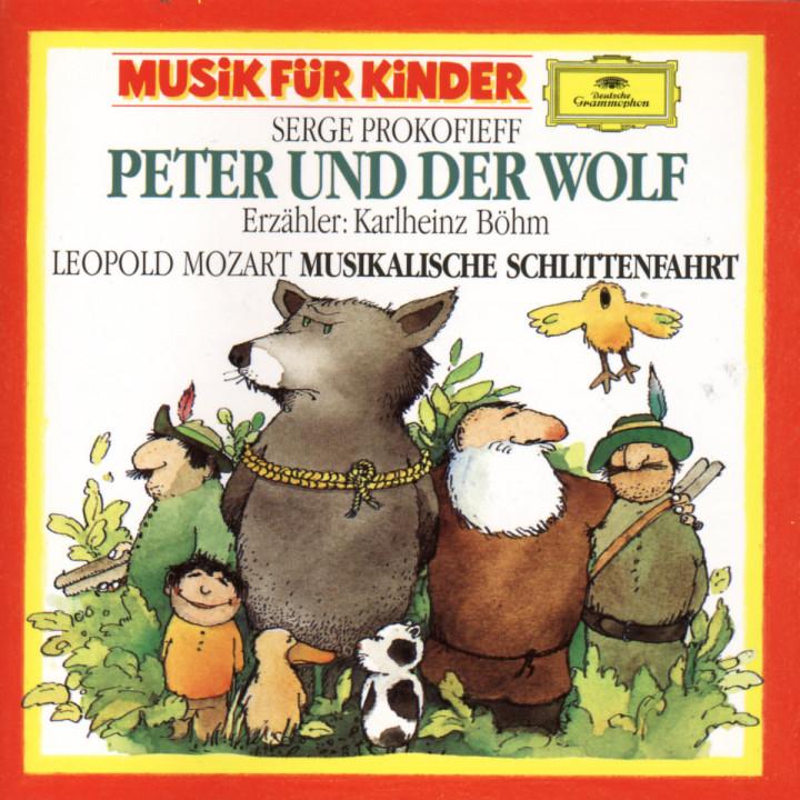 Prokofiev: Peterund der Wolf / L.Mozart: Eine musikalische Schlittenfahrt 0028942779824