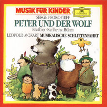 Klassik für Kinder - Komponisten von A-Z, Prokofiev: Peterund der Wolf / L.Mozart: Eine musikalische Schlittenfahrt, 00028942779822