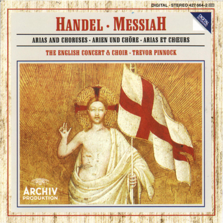 Handel: Messiah - Arias and Choruses 0028942766426