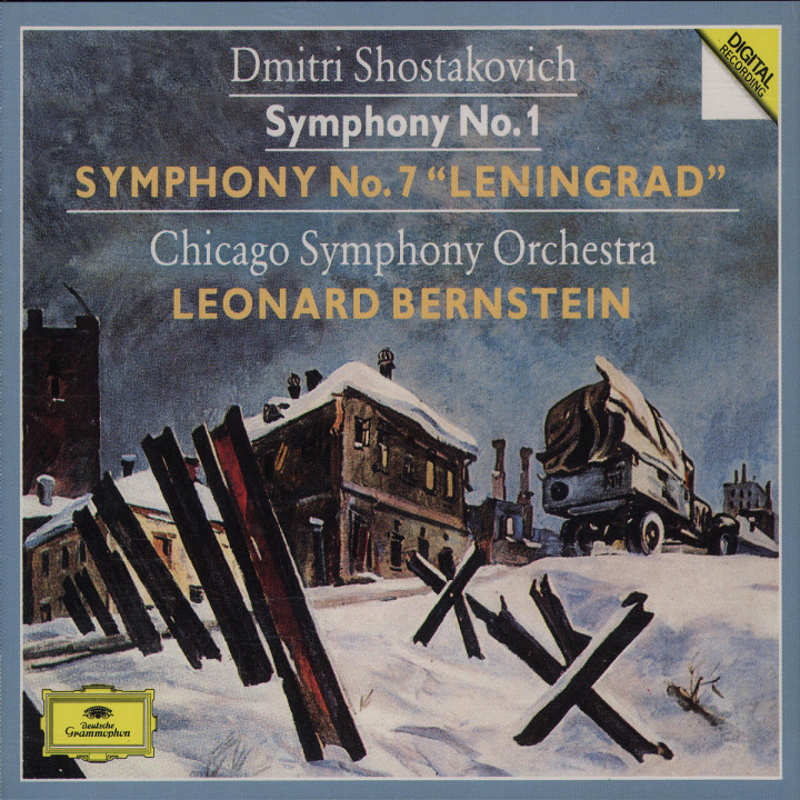 "Shostakovich: Symphonies Nos.1 & 7 ""Leningrad"" 0028942763227"