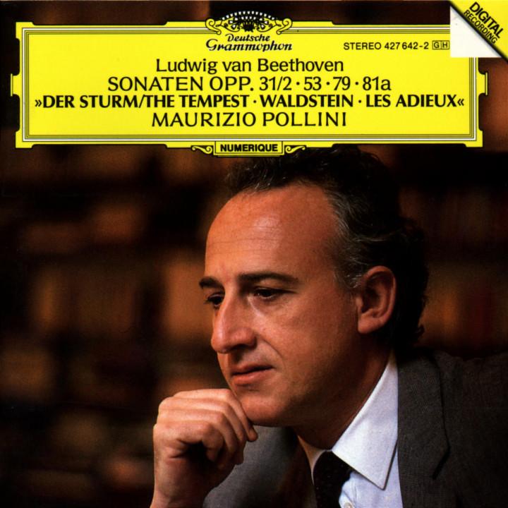 "Klaviersonaten Nr. 17 d-moll ""Der Sturm""; Nr. 21 C-dur ""Waldstein""; Nr. 26 Es-dur ""Les Adieux"" 0028942764228"