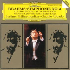 Johannes Brahms, Sinfonie Nr. 2 D-dur op. 73, Alt-Rhapsodie, 00028942764323