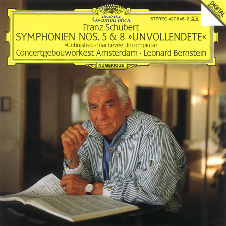 "Schubert: Symphonies Nos.5 & 8 ""Unfinished"" 0028942764527"