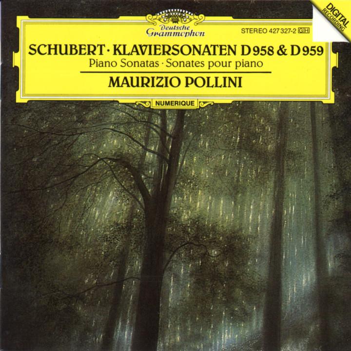 Schubert: Piano Sonatas D958 & D959 0028942732722