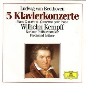 Die Berliner Philharmoniker, Beethoven: 5 Piano Concertos, 00028942723726