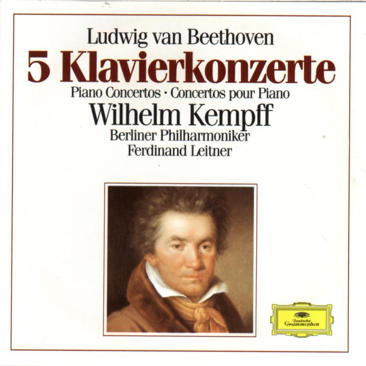 Beethoven: 5 Piano Concertos 0028942723720