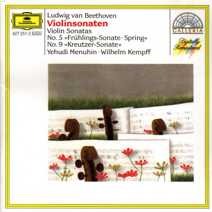 """Beethoven: Violin Sonatas Nos.5 """"Spring"""" & 9 """"Kreutzer"""" 0028942725124"""