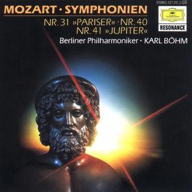 Wolfgang Amadeus Mozart, Sinfonien Nr. 31 D-dur Pariser, Nr. 40 g-moll, Nr. 41 C-dur Jupiter, 00028942721029