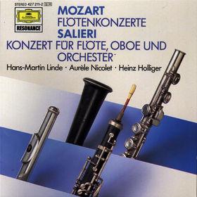 Heinz Holliger, Flötenkonzerte; Konzert für Flöte, Oboe und Orchester, 00028942721128