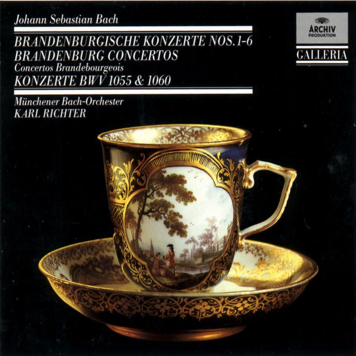Die Brandenburgischen Konzerte Nr. 1-6 0028942714326
