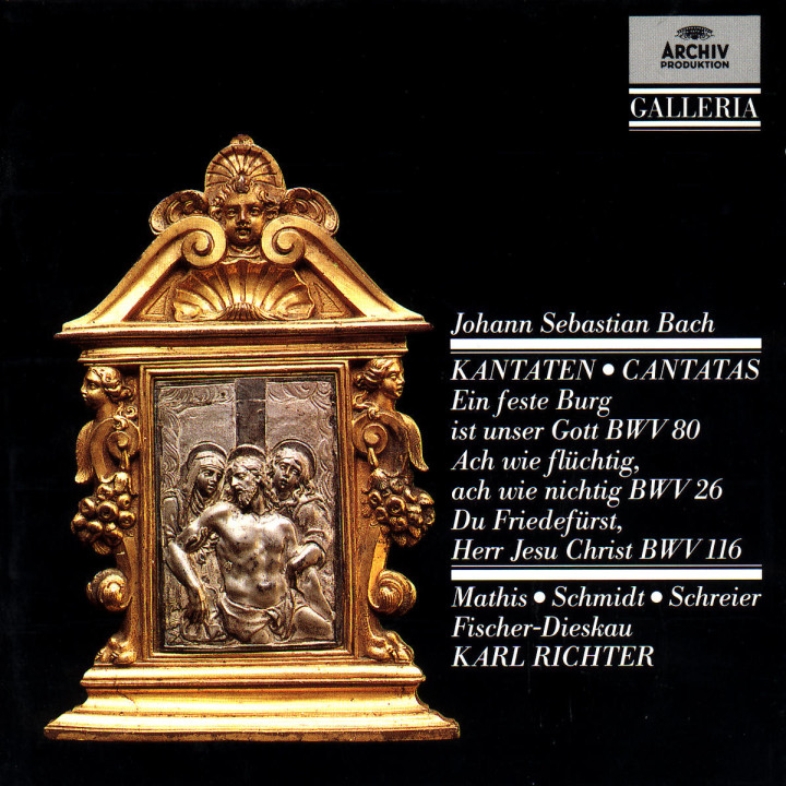 Kantaten BWV 80; 26 & 116 0028942713026